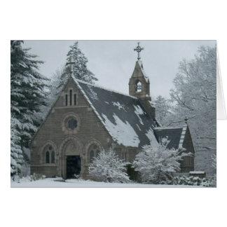 The Winter Chapel Card