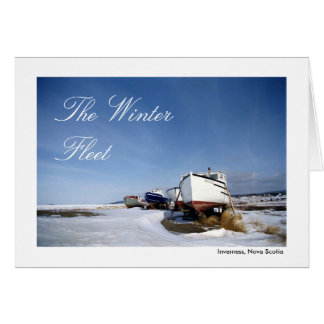 The Winter Fleet Card