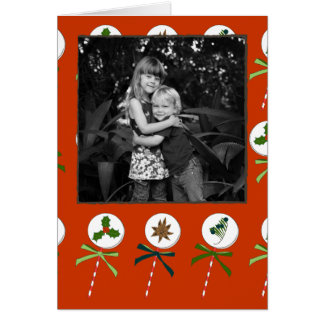 The Winter: Holiday LolliPops Pattern Card