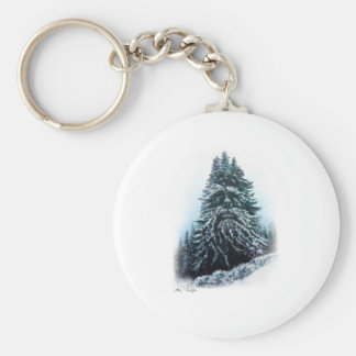 The WInter King Basic Round Button Key Ring