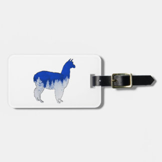THE WINTER MIX LUGGAGE TAG