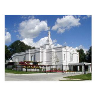 The Winter Quarters Nebraska LDS Temple Postcard