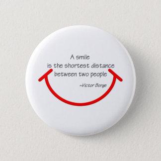 The wisdom of Victor Borge 6 Cm Round Badge
