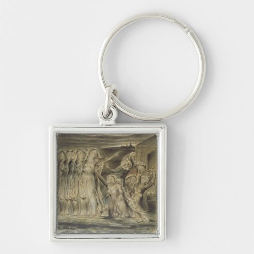 The Wise and Foolish Virgins, c.1822 (w/c and pen Key Chains