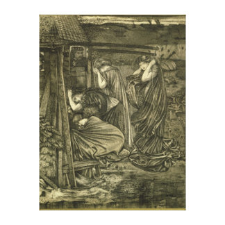 The Wise and Foolish Virgins Stretched Canvas Prints