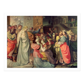 The Wise and Foolish Virgins Postcard