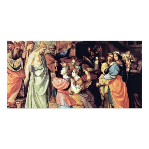 The Wise And The Foolish Virgins By Cornelius Photo Card Template