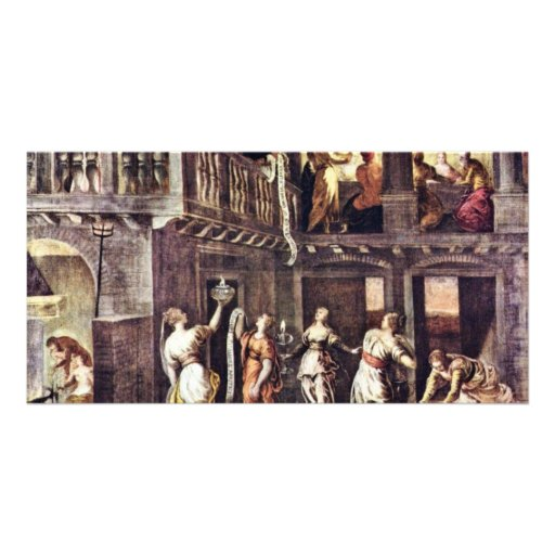 The Wise And The Foolish Virgins By Tintoretto Jac Photo Greeting Card