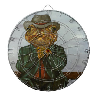 The Wise Toad Dartboard