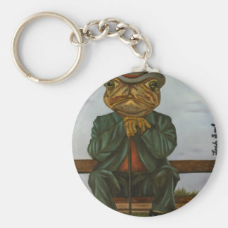 The Wise Toad Key Ring