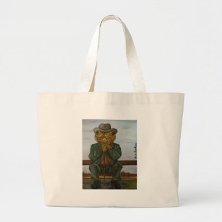 The Wise Toad Large Tote Bag