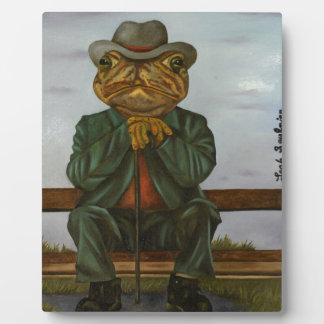 The Wise Toad Plaque
