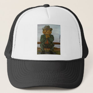 The Wise Toad Trucker Hat
