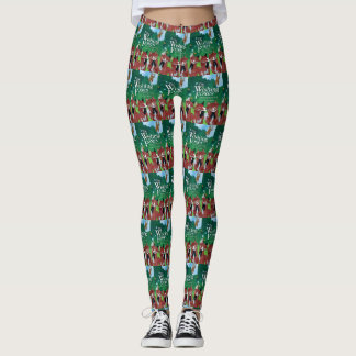 """The Wishing Foxes"" Leggings"