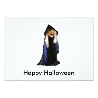 The Witch 13 Cm X 18 Cm Invitation Card