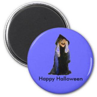 The Witch 6 Cm Round Magnet