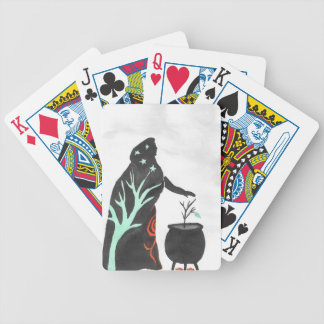 The Witch And Her Cauldron Bicycle Playing Cards