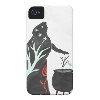 The Witch And Her Cauldron iPhone 4 Case-Mate Case