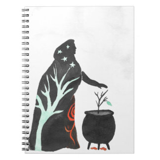 The Witch And Her Cauldron Notebook