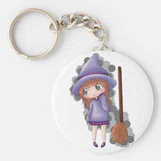 the witch girl. key ring