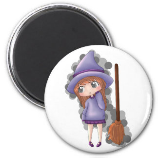 the witch girl. magnet