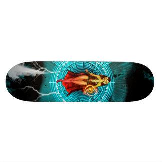 The witch custom skate board
