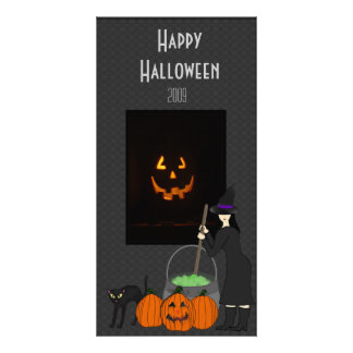 The Witches Brew Photo Card Template