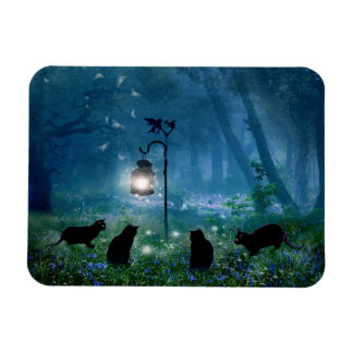 The Witches Cats photo magnet