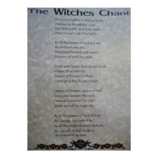 The Witches Chant Poster