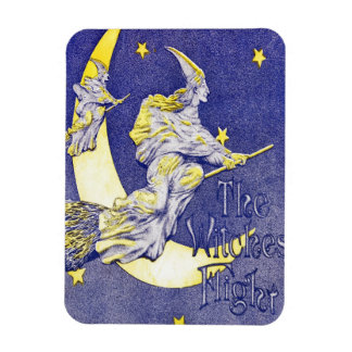 The Witches' Flight Vinyl Magnet
