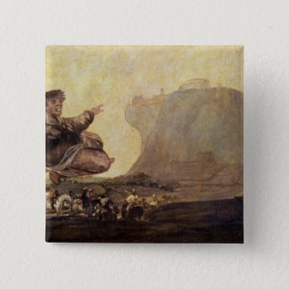 The Witches' Sabbath, c.1819-23 15 Cm Square Badge