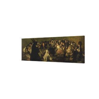 The Witches' Sabbath Canvas Print