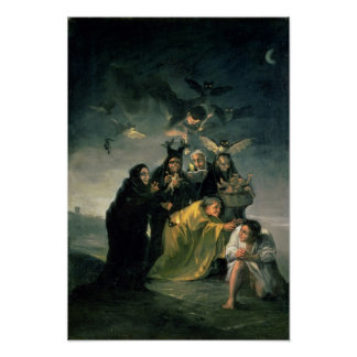 The Witches' Sabbath Poster