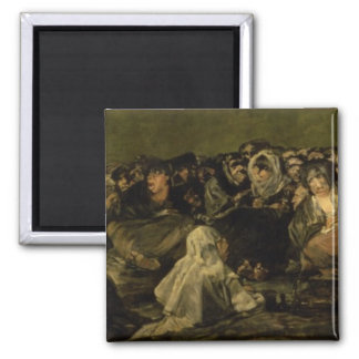 The Witches' Sabbath Square Magnet