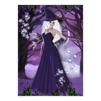 The Witching Hour 13 Cm X 18 Cm Invitation Card