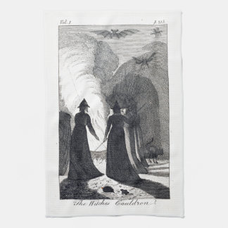 The Witch's Cauldron Kitchen Towel