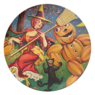 The Witch's Dance Plate