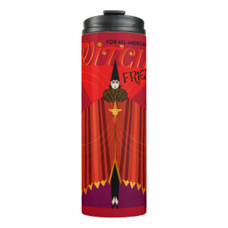 The Witch's Friend October Magazine Thermal Tumbler