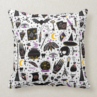 The Witch's Magical Tools Pillow