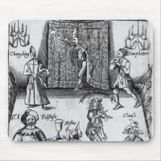 The Wits, or, Sport upon Sport, 1662 Mouse Pads