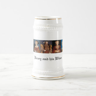 The Wives of Henry VIII Beer Stein
