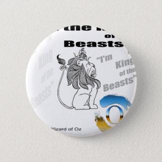 The Wizard of Oz - illustration 6 Cm Round Badge