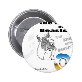 The Wizard of Oz - illustration 6 Cm Round Badge