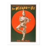 """""""The wizard of Oz"""" Musical Theatre Poster #2 Postcard"""