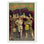 The Wizard of Oz Musical Vintage Poster 1903 Card