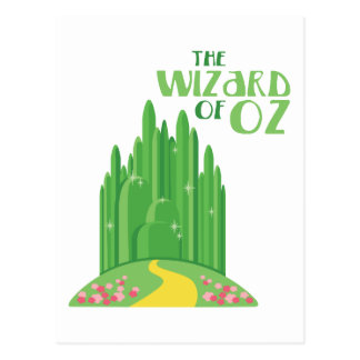 The Wizard of Oz Postcard