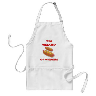The Wizard of Wieners Griling APRON