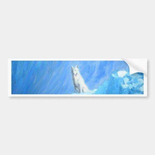 The Wolf Bumper Sticker