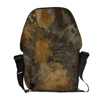 The wolf courier bag