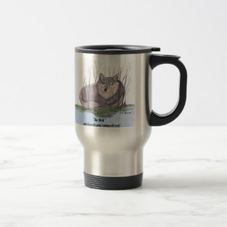 The Wolf Stainless Steel Travel Mug
